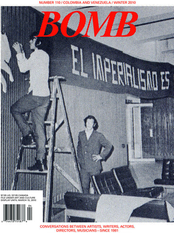 BOMB 110 (Americas Issue: Columbia and Venezuela)