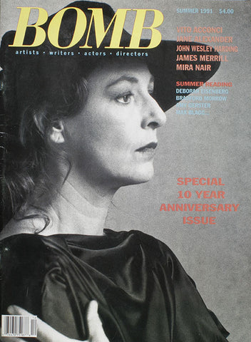 BOMB 36 / Summer 1991 (10th Anniversary Issue)
