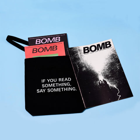 Holiday Special: BOMB #1, One Year Print + Digital Subscription, & FREE Tote