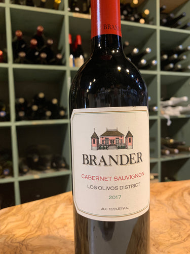 Brander Cabernet 2017 (local)