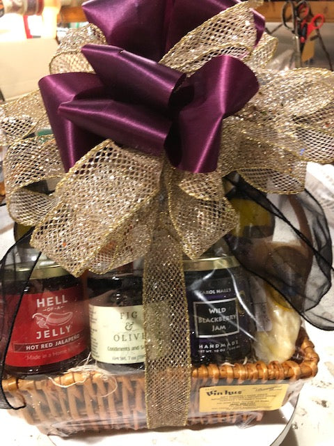 Gift Basket- Gourmet and Local Goodies
