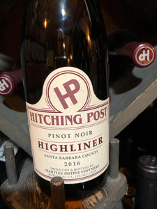 Hitching Post Highliner Pinot Noir 2016 (Local)