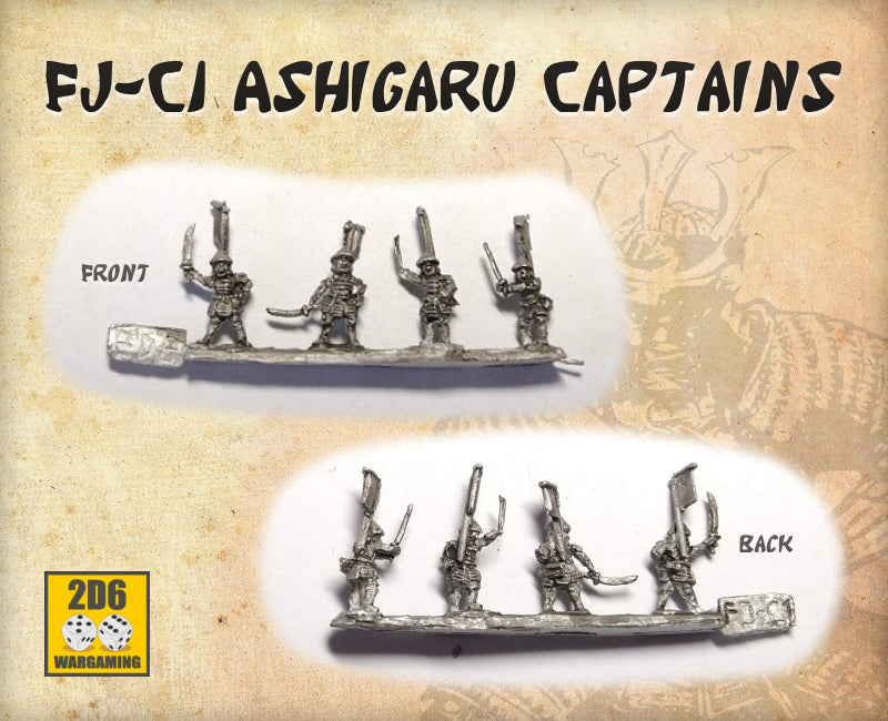 FJ-C1 Ashigaru Captains Pack
