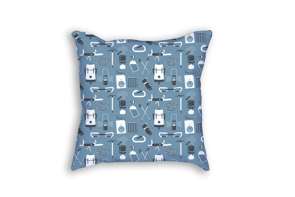 The Alpinist's Throw Pillow