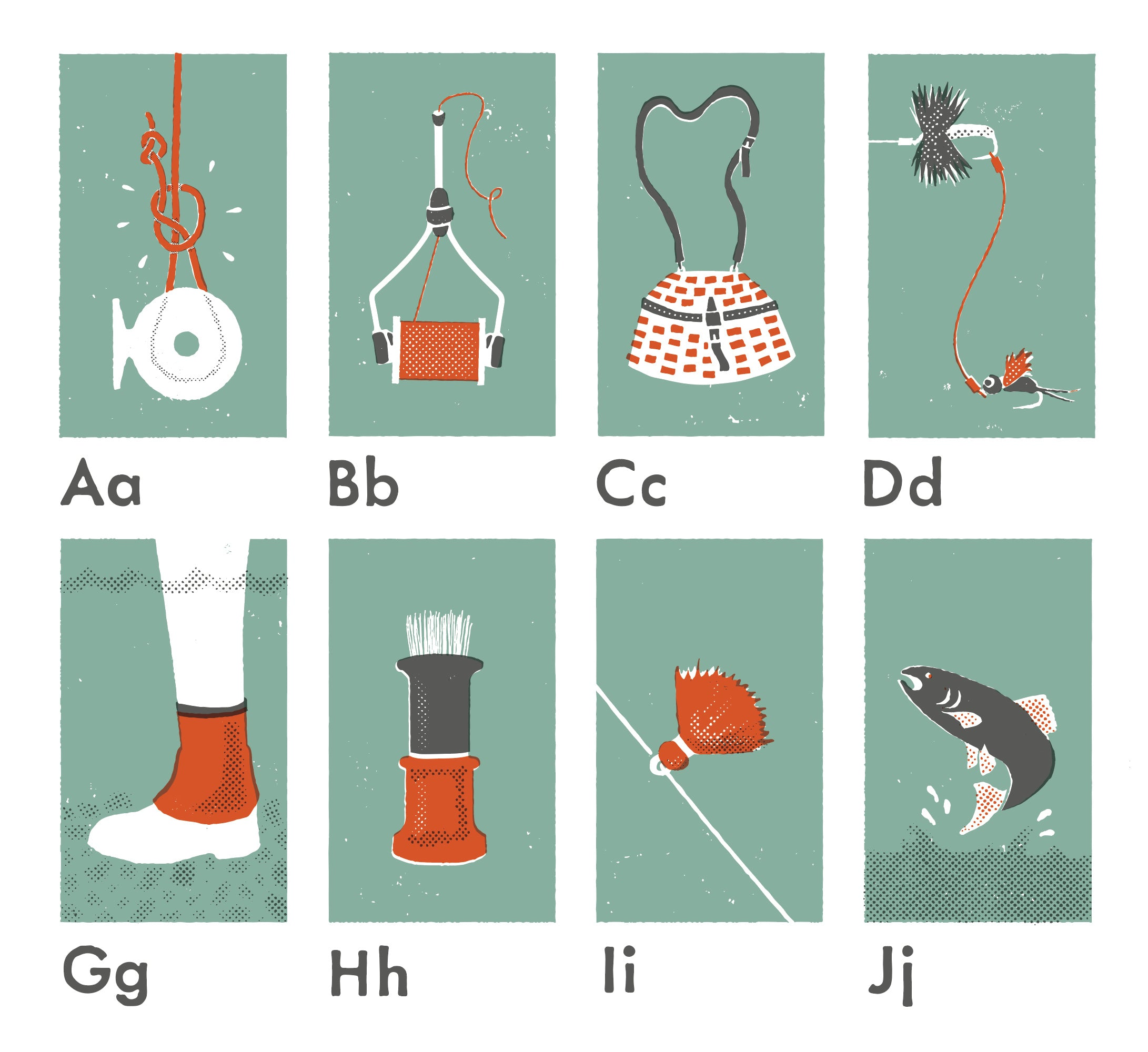 The Fly Fishing Alphabet