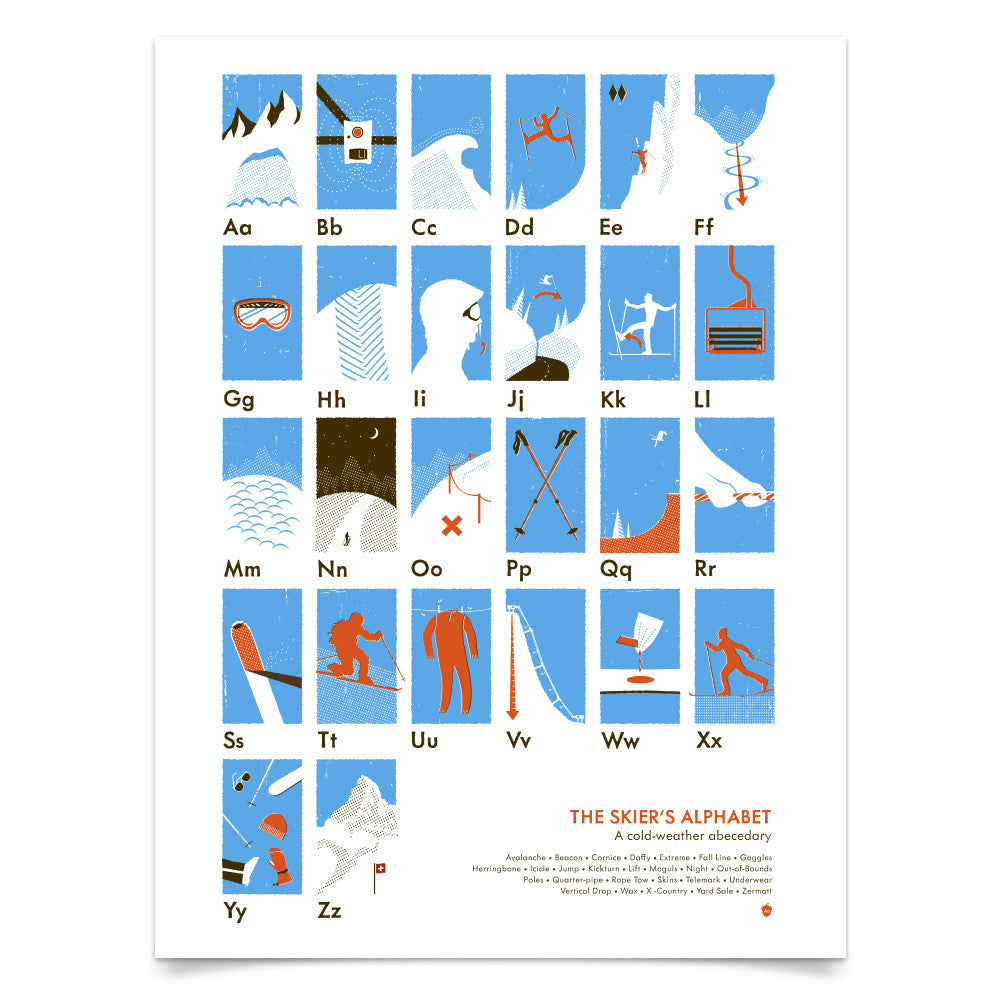 The Skier's Alphabet