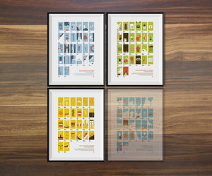 Three-Pack of Alphabet Posters