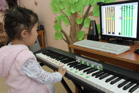Interactive piano software for toddlers