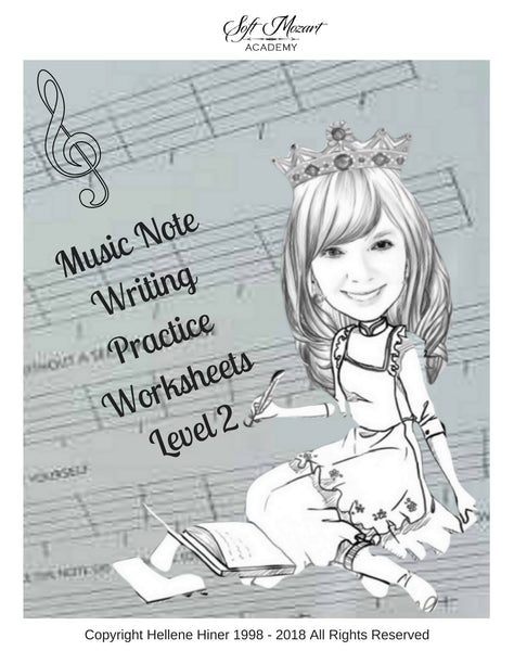Music Notes Writing Practice Worksheets 2