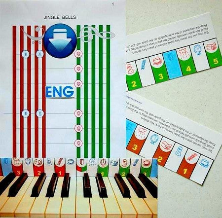 'Jingle Bells' elementary sheet music. ENGLISH. DoReMi (downloadable)