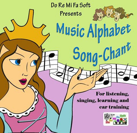 Music Alphabet Song-Chant CD-disk