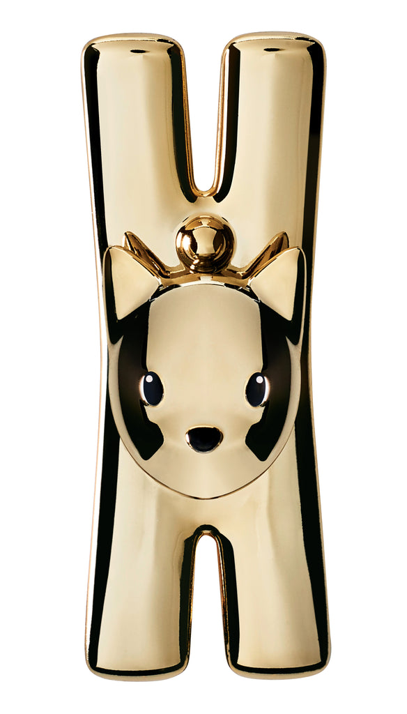 ALESSI Lampo cat shaped clip with magnet