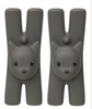 ALESSI Lampo pair of cat shaped clip with magnet
