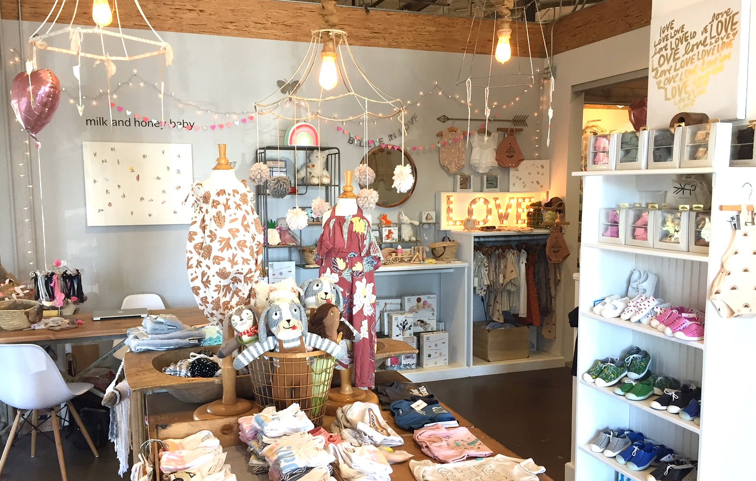 Milk and Honey Baby a beach inspired baby boutique Costa Mesa, CA – milk  and honey baby