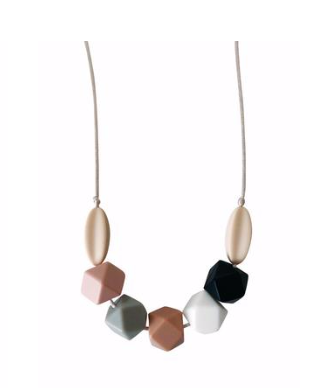 Mom's Teething Necklace- Multi