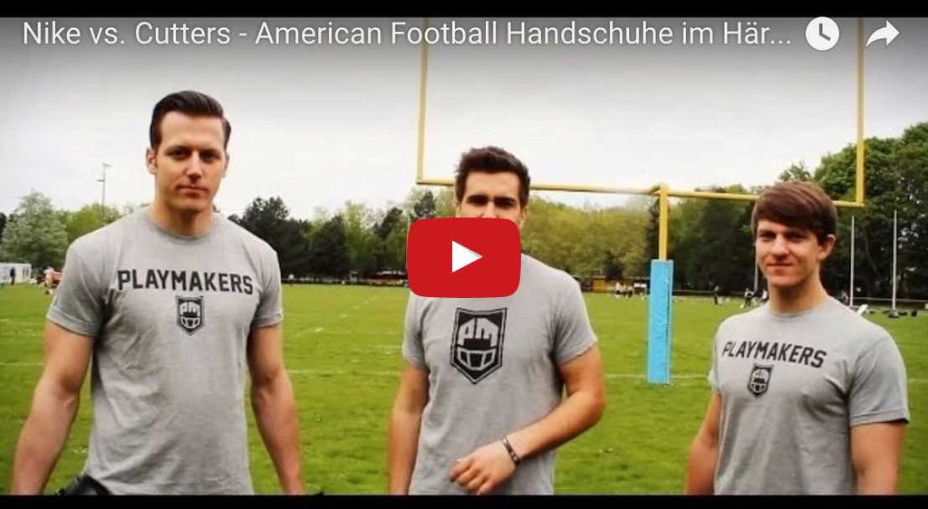 Nationalspieler Testen Football Handschuhe