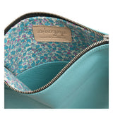 THE FOLDOVER CLUTCH - TURQUOISE