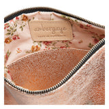THE ZIP CLUTCH - ROSE GOLD