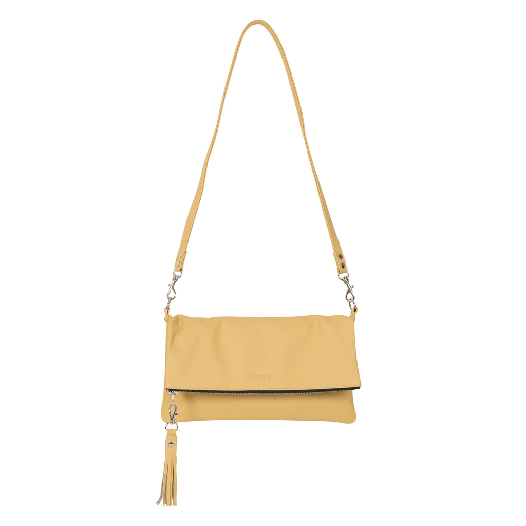 THE FOLDOVER BAG - YELLOW