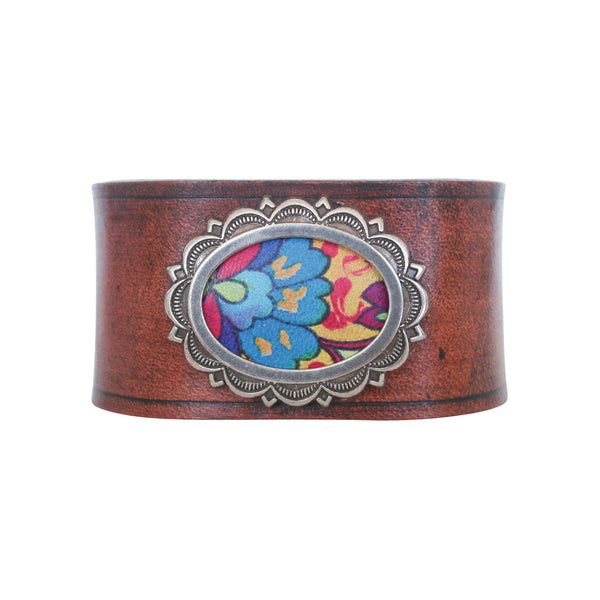 THE CONCHO CUFF - MOROCCAN TAN