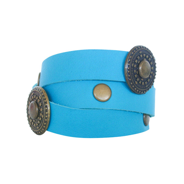 THE WRAP CUFF - TURQUOISE ANTIQUE