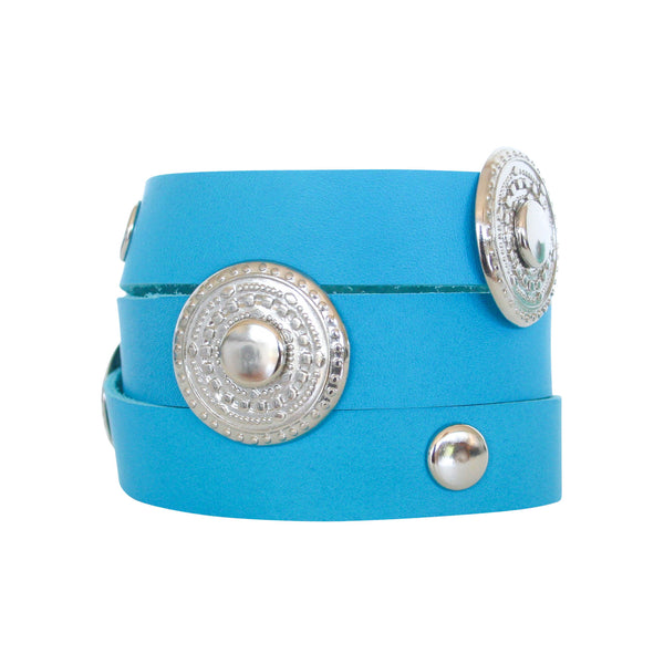 THE WRAP CUFF - TURQUOISE SILVER