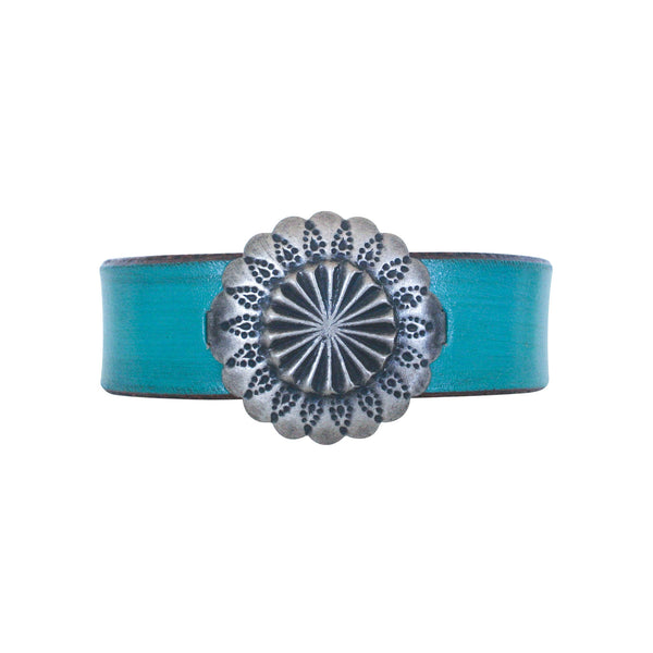 THE MANDALETTE CUFF - TURQUOISE