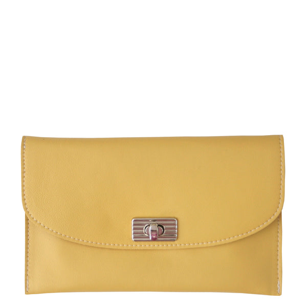 THE TURNLOCK WALLET - YELLOW