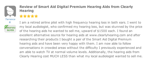 Hearing Aid Review for Clearly Hearing