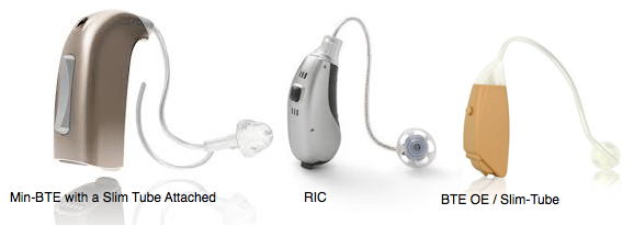 Open Fit Hearing Aids, Mini-BTE, RIC and BTE OE