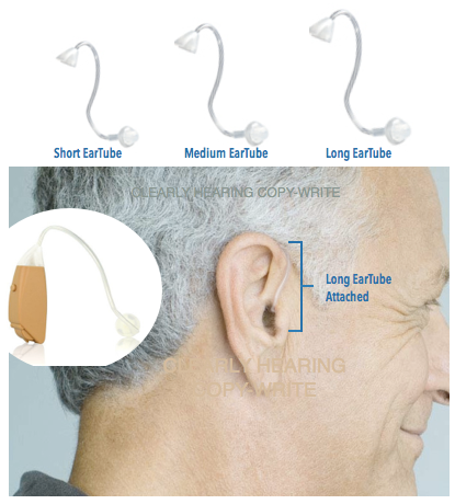 BTE OE Ear Tube Sizes