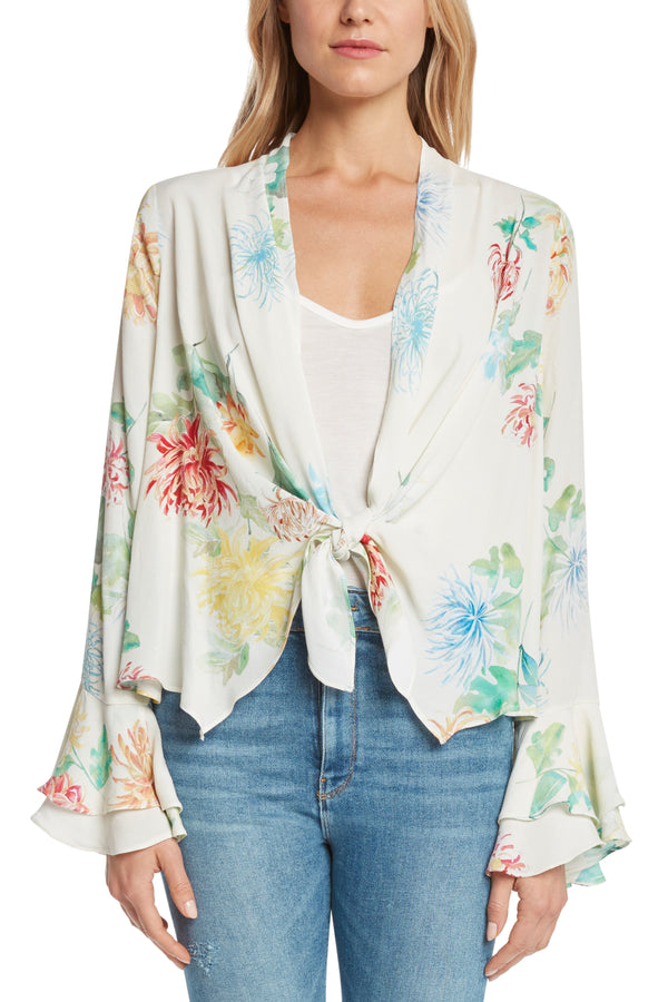 Sunset Tie-Front Jacket