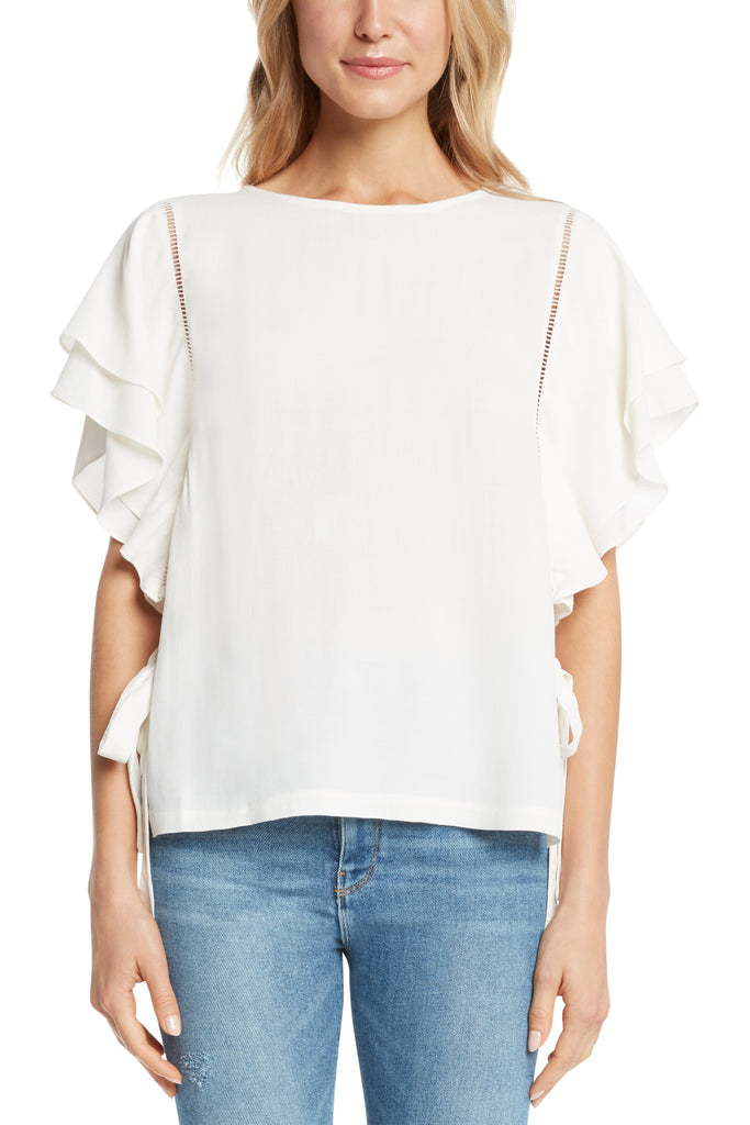 Salem Ruffle Sleeve Top