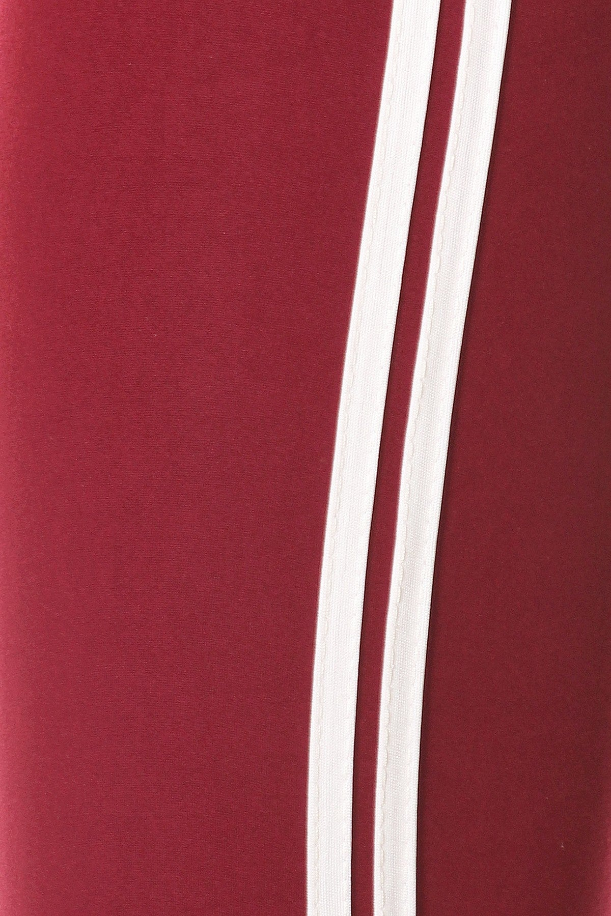 Stripped Red And White Jogger - steven wick