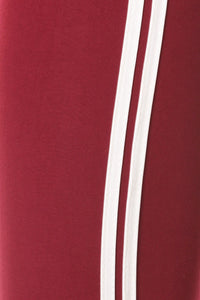 Stripped Red And White Jogger - stevenwick