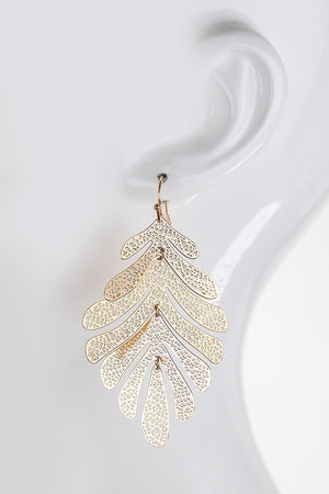 Coral Reef Dangle Hook Earrings - STEVEN WICK