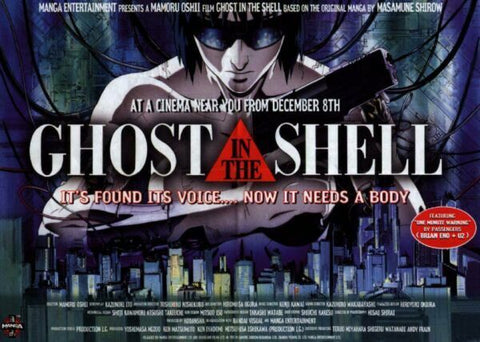 Cyberpunk movie ghost in the shell