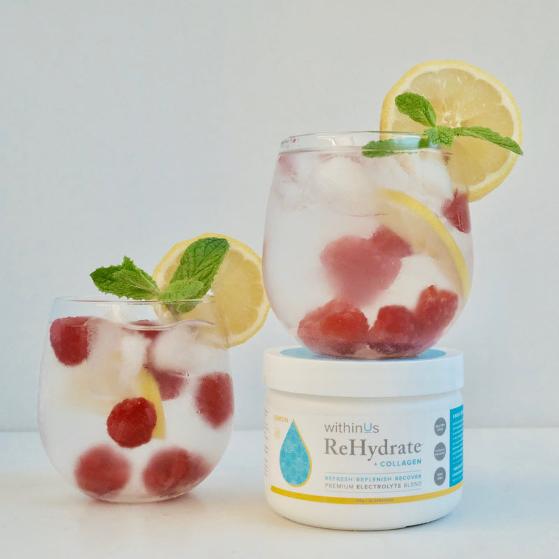 COLLAGEN-POWERED REHYDRATE REFRESHER ~ WITHINUS TEAM
