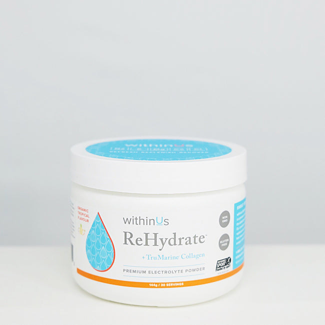 REHYDRATE:  MEET YOUR NEW PREMIUM ELECTROLYTE  ~ WITHINUS TEAM