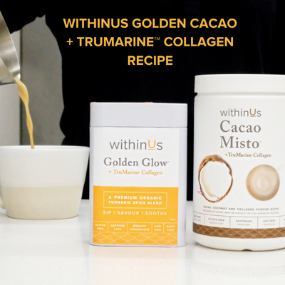 WITHINUS GOLDEN CACAO + TRUMARINE™ COLLAGEN RECIPE
