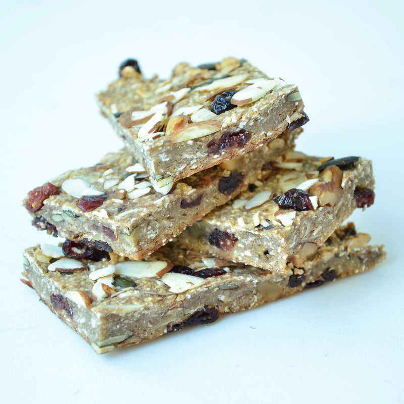 WITHINUS SUPER-CHARGED BREAKFAST BARS ~ THE WITHINUS TEAM
