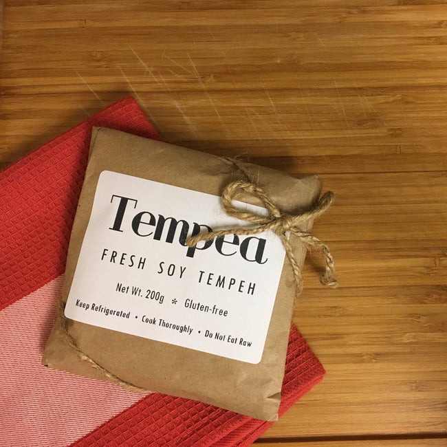 FOR THE LOVE OF TEMPEH ~ JENNA LAURITA