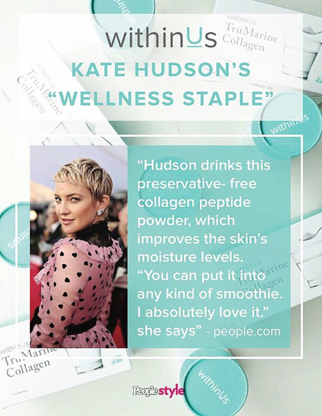 Kate Hudson + Collagen