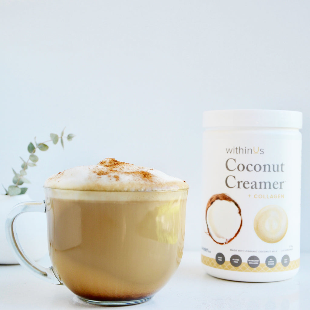 Delicious Peppermint Mocha Latte + Collagen