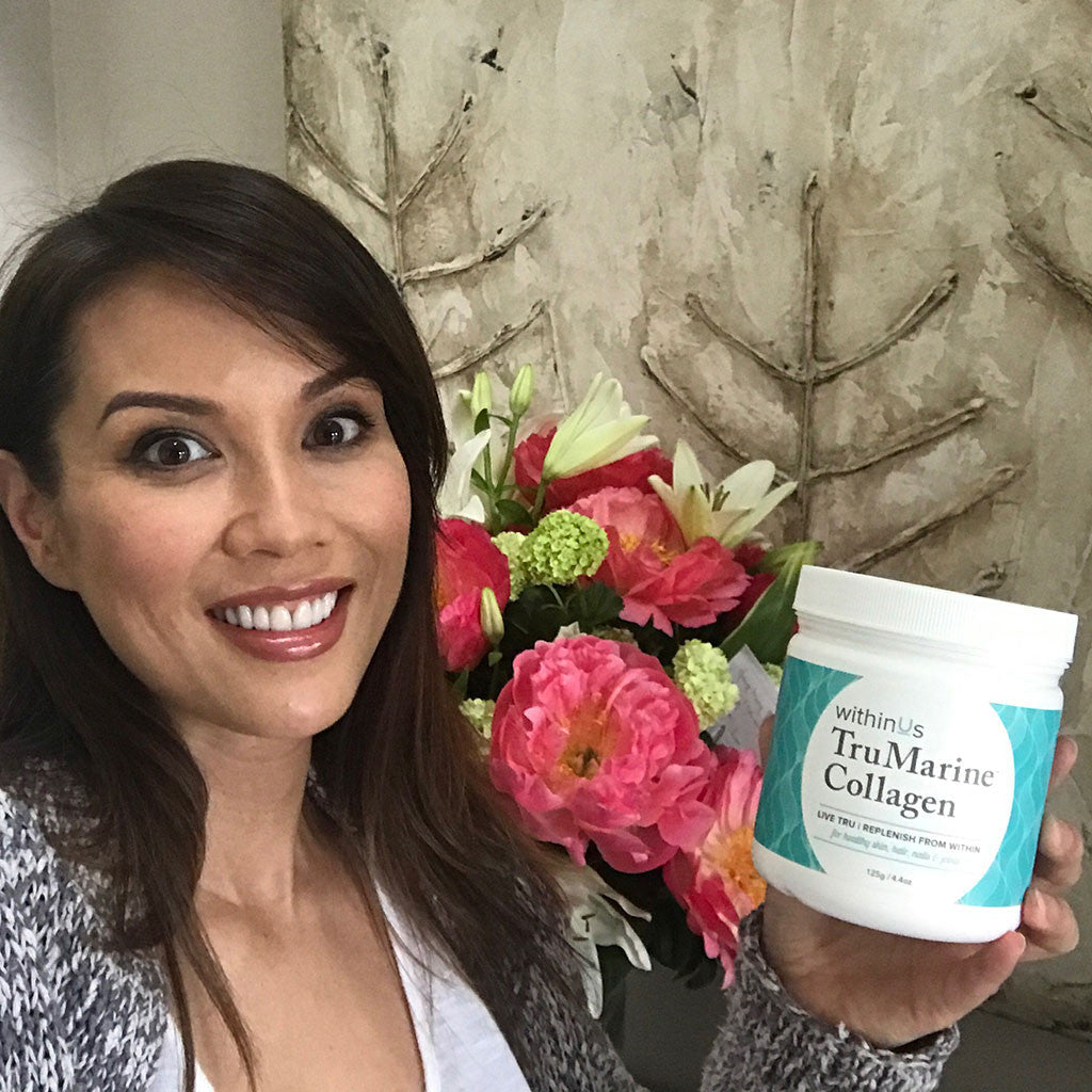 Lexa Doig likes withinUs TruMarine Collagen