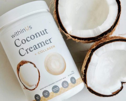 withinUs Coconut Creamer + Collagen