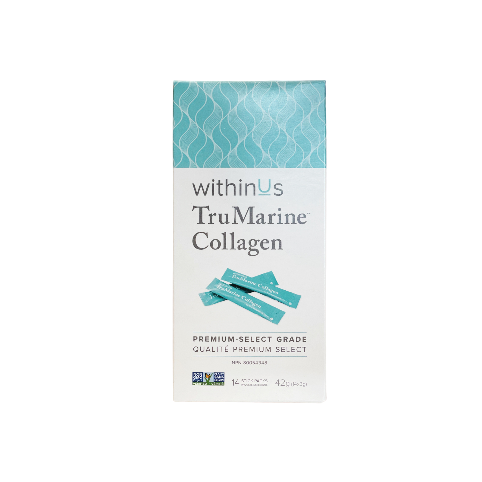 withinUs™ TruMarine® Collagen stick packs - 14 x stick packs
