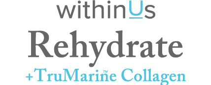 ReHydrate + TruMarine™ Collagen FAQ text header