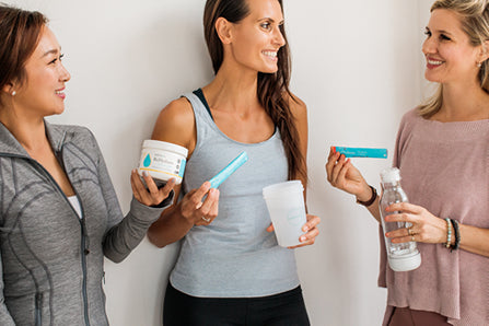 Three Women enjoying withinUs products