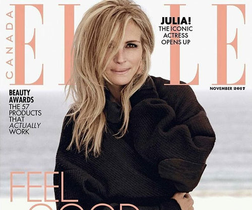 Julia Roberts on the cover ELLE Magazine